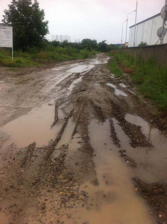 Drumul Lapus saptamana trecuta